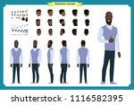 standing young businessman.... | Shutterstock .eps vector #1116582395