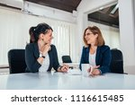 Image Of Two Business Woman...