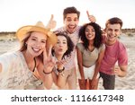 photo of happy young... | Shutterstock . vector #1116617348