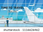 landscape interior view of the...   Shutterstock .eps vector #1116626462