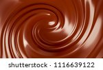 splash  a stream of chocolate....   Shutterstock . vector #1116639122
