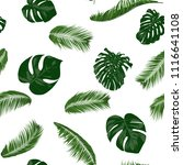 seamless pattern with vector... | Shutterstock .eps vector #1116641108