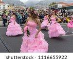 funchal  madeira  portugal  ... | Shutterstock . vector #1116655922