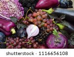 Purple Vegetables And Fruits....