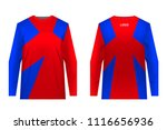 templates jersey for... | Shutterstock .eps vector #1116656936