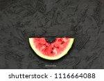 watermelon. healthy food....   Shutterstock . vector #1116664088
