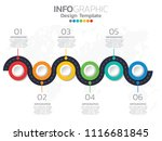 professional timeline with... | Shutterstock .eps vector #1116681845