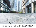 modern skyscrapers in shanghai... | Shutterstock . vector #1116689708