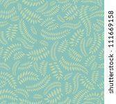 floral seamless pattern. fall... | Shutterstock .eps vector #111669158