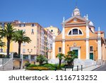 cathedral of our lady of the... | Shutterstock . vector #1116713252