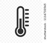 Thermometer Vector Icon With...
