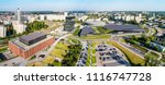 wide aerial panorama of... | Shutterstock . vector #1116747728
