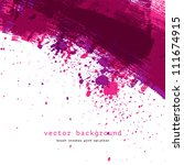 purple colorful vector abstract ... | Shutterstock .eps vector #111674915