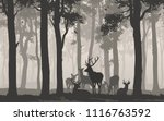 natural background with the... | Shutterstock .eps vector #1116763592