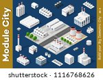 set of urban areas of modules | Shutterstock . vector #1116768626