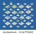 set of snow snowbound | Shutterstock . vector #1116770402
