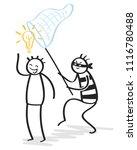 plagiarism  copycat  idea rip... | Shutterstock .eps vector #1116780488