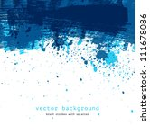 blue colorful vector abstract... | Shutterstock .eps vector #111678086