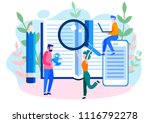 concept education  online... | Shutterstock .eps vector #1116792278