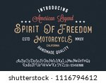 original handmade alphabet.... | Shutterstock .eps vector #1116794612