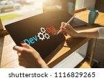 devops   development cycles of...   Shutterstock . vector #1116829265