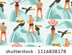 hand drawn vector abstract... | Shutterstock .eps vector #1116838178