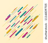 abstract of colorful stripe... | Shutterstock .eps vector #1116839705