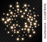 many random falling pastel...   Shutterstock .eps vector #1116878456