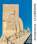 monument for the seafarers in... | Shutterstock . vector #1116883646