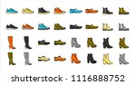shoes icon. vector illustration. | Shutterstock .eps vector #1116888752