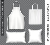 set of accessories template.... | Shutterstock .eps vector #1116893435