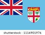 flag of fiji | Shutterstock .eps vector #1116901976