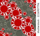 casino poker chips icon...   Shutterstock .eps vector #1116907796