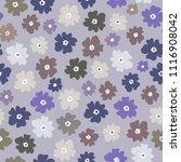 vector seamless pattern of neat ... | Shutterstock .eps vector #1116908042