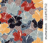 vintage style trendy print.... | Shutterstock .eps vector #1116913712
