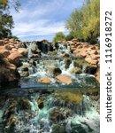 very lovely waterfall   Shutterstock . vector #1116918272