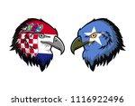 croatia vs somalia | Shutterstock . vector #1116922496