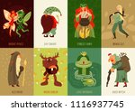 forest fairy tale characters...   Shutterstock .eps vector #1116937745
