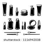 cosmetics set. vector | Shutterstock .eps vector #1116942038