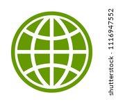 globe icon  earth planet  ... | Shutterstock .eps vector #1116947552