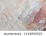 white and red stone texture in... | Shutterstock . vector #1116952022