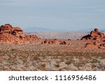 valley of fire landscape with... | Shutterstock . vector #1116956486