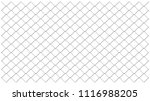 chainlink fencing mesh vector... | Shutterstock .eps vector #1116988205