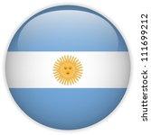 Vector   Argentina Flag Glossy...