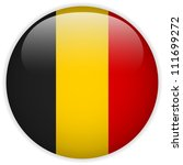 Vector   Belgium Flag Glossy...