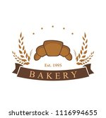 bakery  dessert  baverage sign... | Shutterstock .eps vector #1116994655