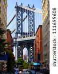 Manhattan Bridge And Empire...