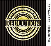 reduction shiny emblem | Shutterstock .eps vector #1116996212