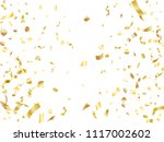 gold on white glowing holiday... | Shutterstock .eps vector #1117002602