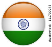 Vector   India Flag Glossy...